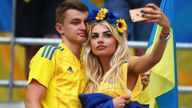 Fan Ukraine - Bildquelle: 2016 Getty Images