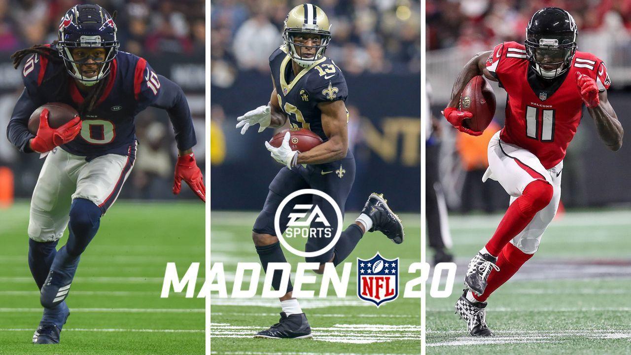 Madden NFL 20: Das sind die besten 10 Wide Receiver - Bildquelle: imago