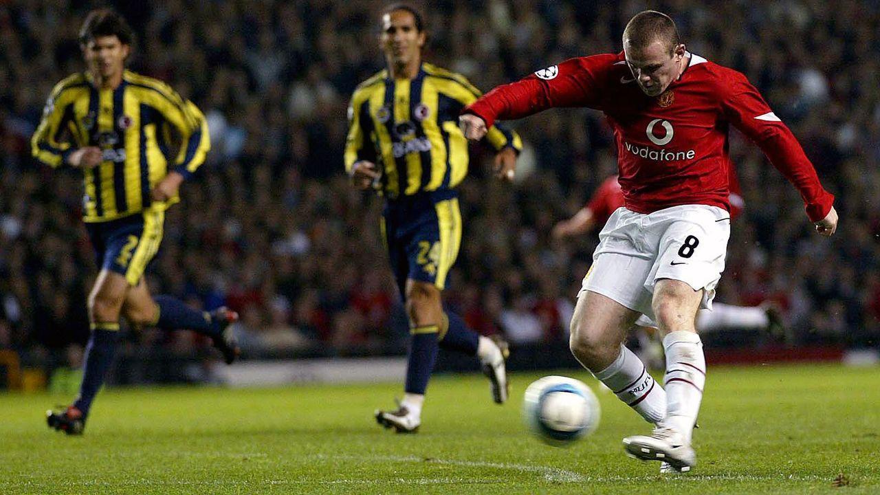 Platz 4 - Wayne Rooney (Manchester United) - Bildquelle: Imago