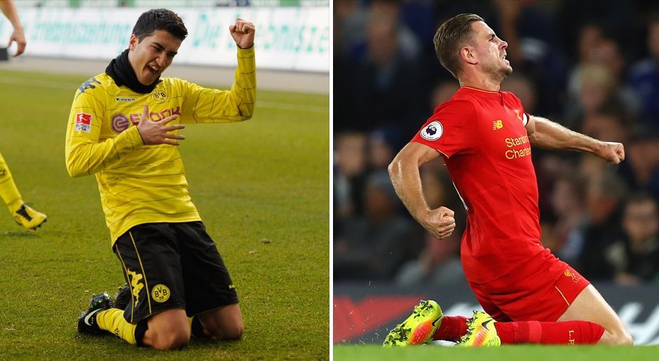 Defensives Mittelfeld: Sahin vs. Henderson - Bildquelle: Getty Images