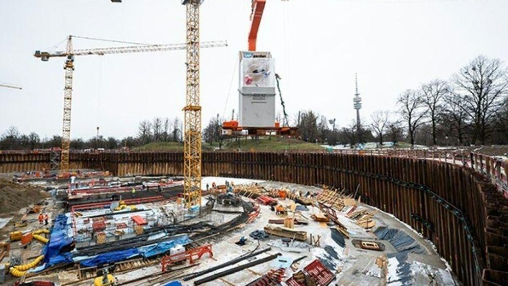 Im Olympiapark München entsteht eine Multifunktionsarena - Bildquelle: Red Bull Stadion München GmbHRed Bull Stadion München GmbHRed Bull Stadion München GmbH