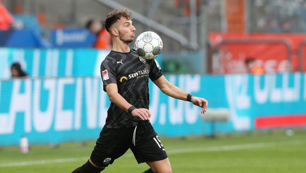 Paqarada bestritt 160 Pflichtspiele für Sandhausen - Bildquelle: FIROFIROSID
