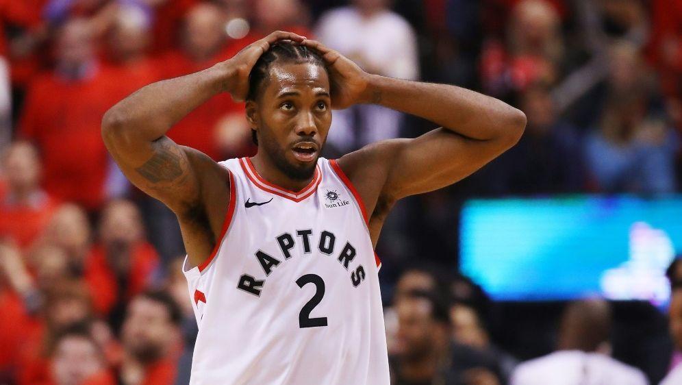 Rückschlag für Kawhi Leonard und die Toronto Raptors - Bildquelle: GETTY AFPSIDGregory Shamus