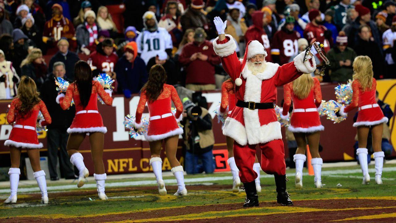Weihnachtsdeko im NFL-Style - Bildquelle: 2014 Getty Images