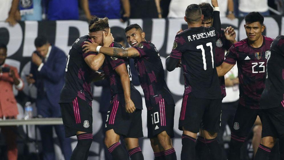 Gold Cup: Mexiko qualifiziert sich für Halbfinale - Bildquelle: AFPGETTY SIDRALPH FRESO