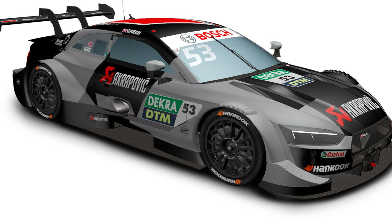 Jamie Green (Audi Sport Team Rosberg) - Bildquelle: DTM