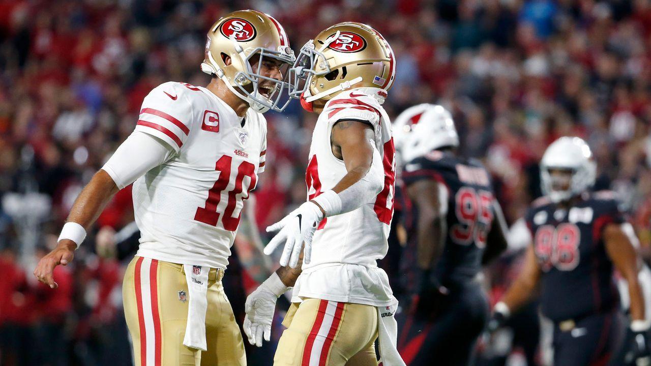 Passing Offense: San Francisco 49ers - Bildquelle: 2019 Getty Images