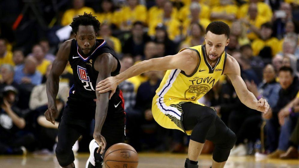 Curry (r.) hatte mit den Warriors das Nachsehen - Bildquelle: AFPGETTYSIDEZRA SHAW