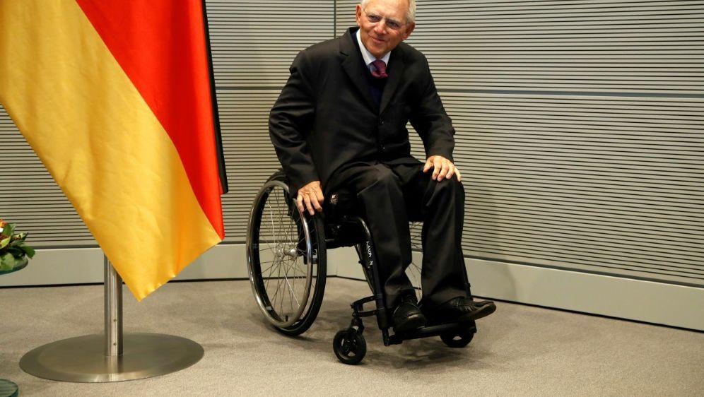 Besondere Auszeichnung für Wolfgang Schäuble - Bildquelle: AFPSIDODD ANDERSEN