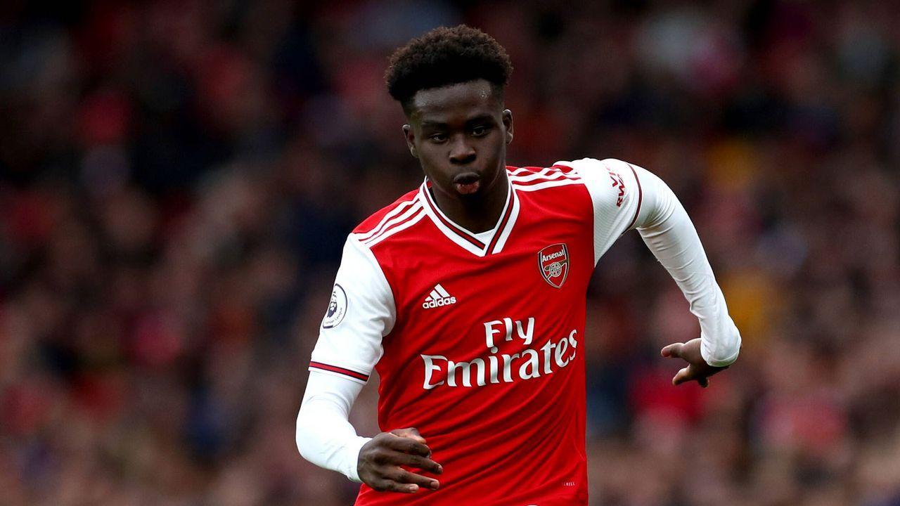 8. Bukayo Saka (FC Arsenal) - 13 Punkte - Bildquelle: imago