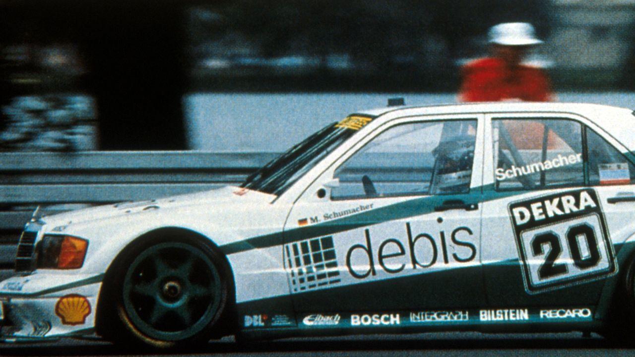 Michael Schumacher/1990 - Bildquelle: LAT