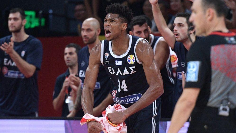 Giannis Antetokounmpo ist der amtierende MVP der NBA - Bildquelle: AFPSIDNICOLAS ASFOURI