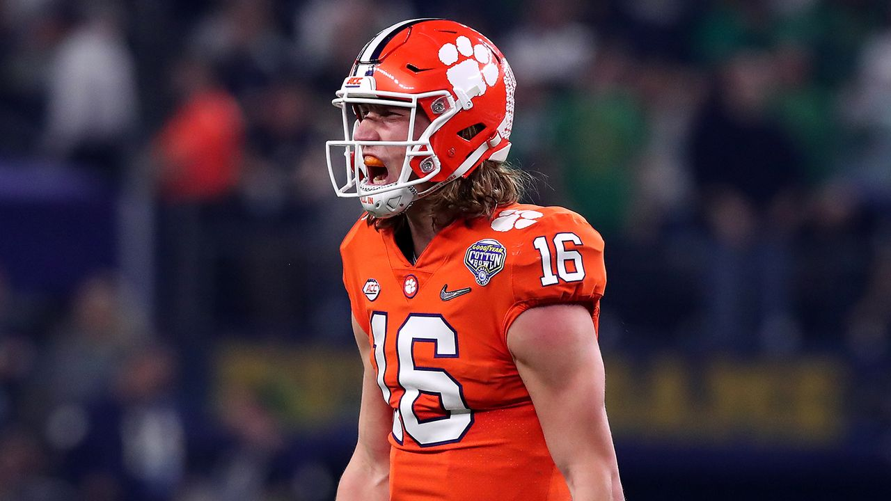 Trevor Lawrence, Quarterback, Clemson - Bildquelle: Getty Images