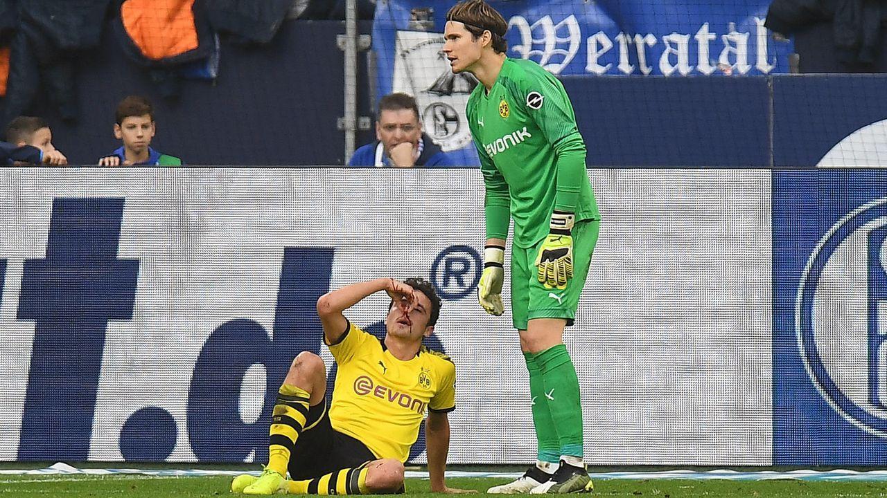 Bundesliga: Impressionen vom Revierderby 2019/20 - Bildquelle: imago images/Kirchner-Media