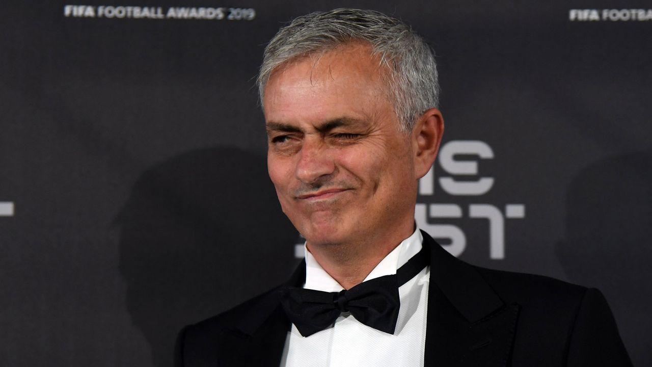 Platz 1: Jose Mourinho (vereinslos) - Bildquelle: 2019 Getty Images