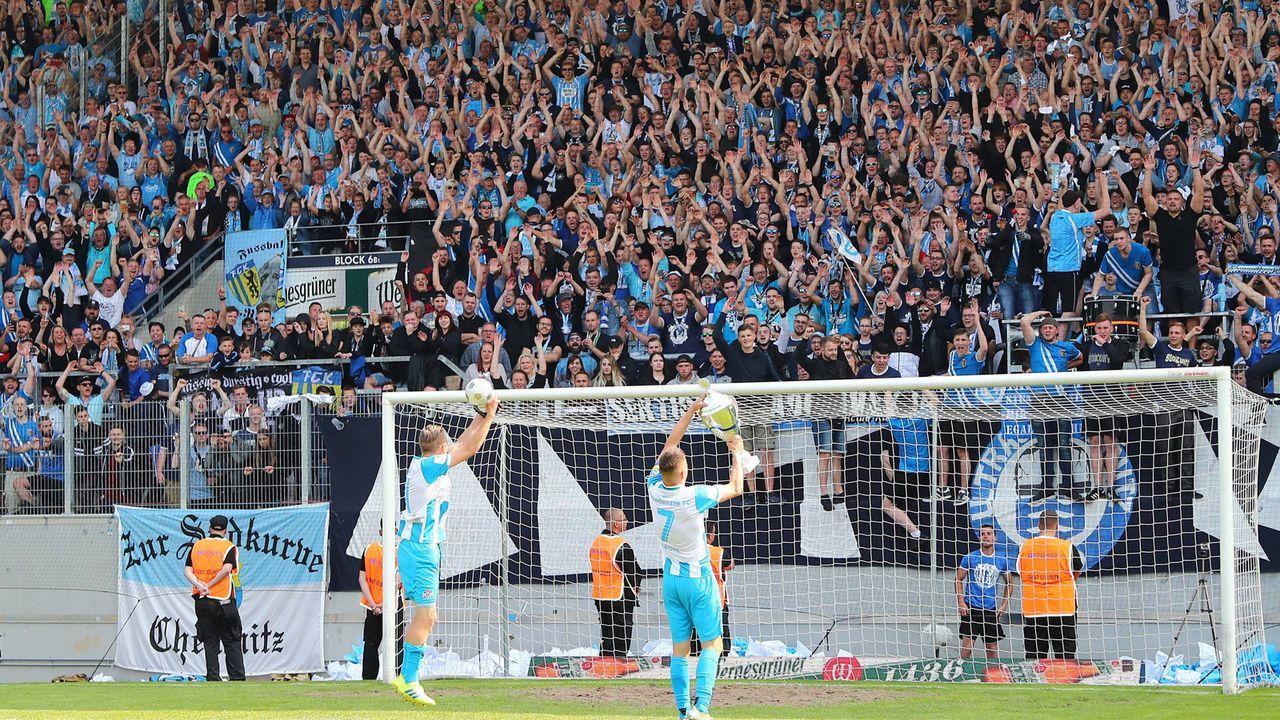 Platz 15: Chemnitzer FC - Bildquelle: imago images / Picture Point