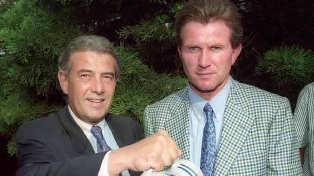 1994 bis 1995 Eintracht Frankfurt - Bildquelle: imago sportfotodienst