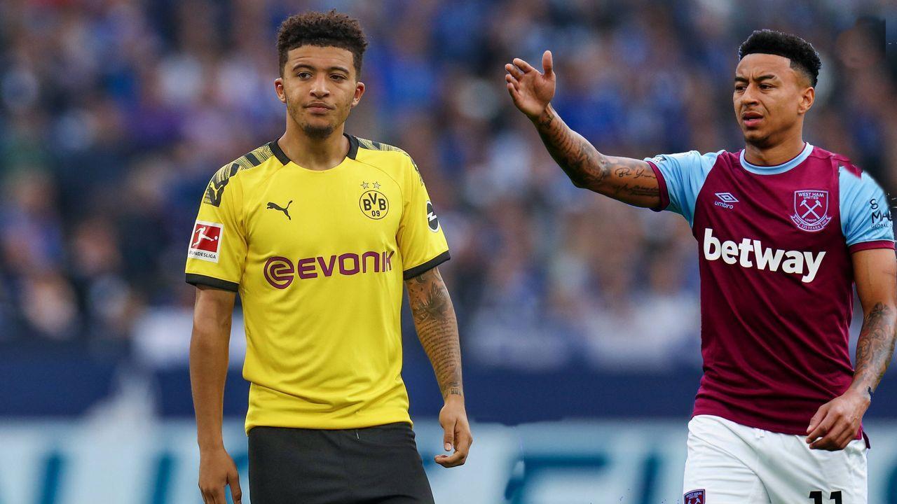 Jadon Sancho (Borussia Dortmund) - Bildquelle: imago images/RHR-Foto