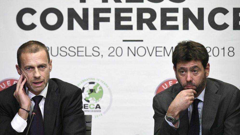 Auch die ECA spricht sich gegen eine Super League aus - Bildquelle: AFPSIDJOHN THYS