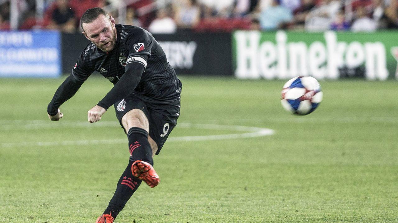 Platz 9: Wayne Rooney (DC United) - Bildquelle: imago images / Icon SMI