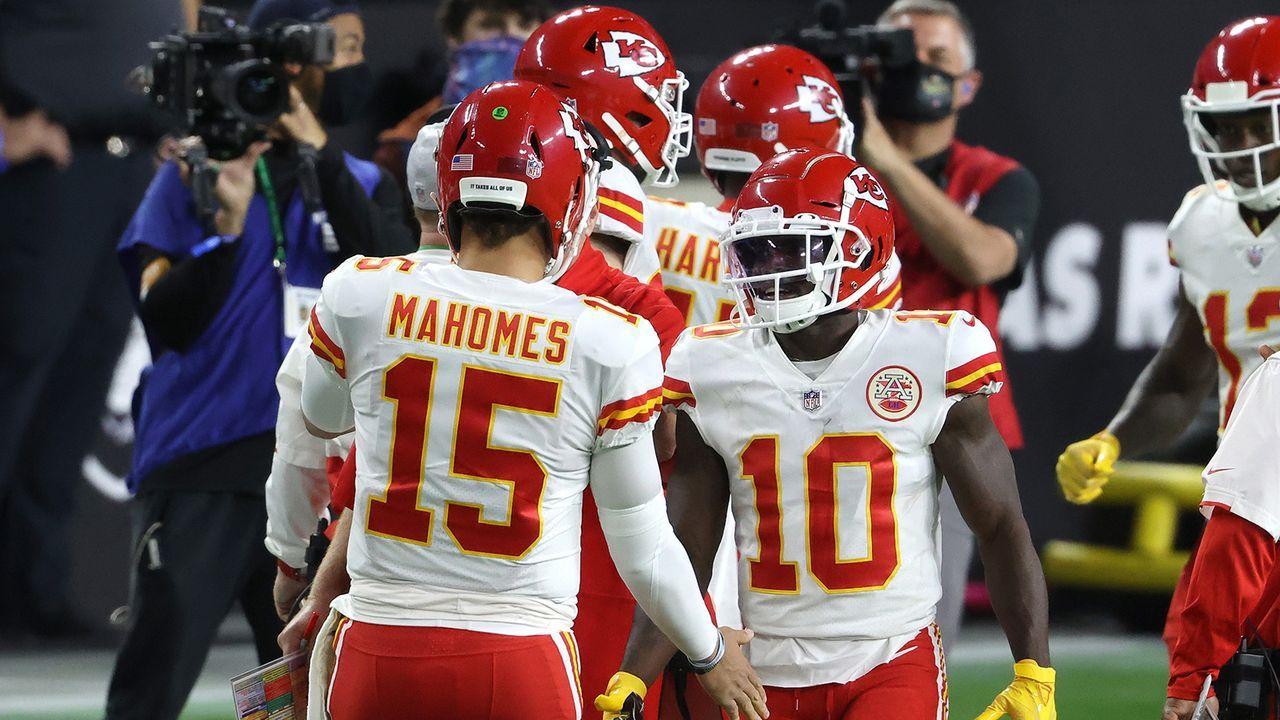 Platz 4: Kansas City Chiefs (14-2) - Bildquelle: Getty Images