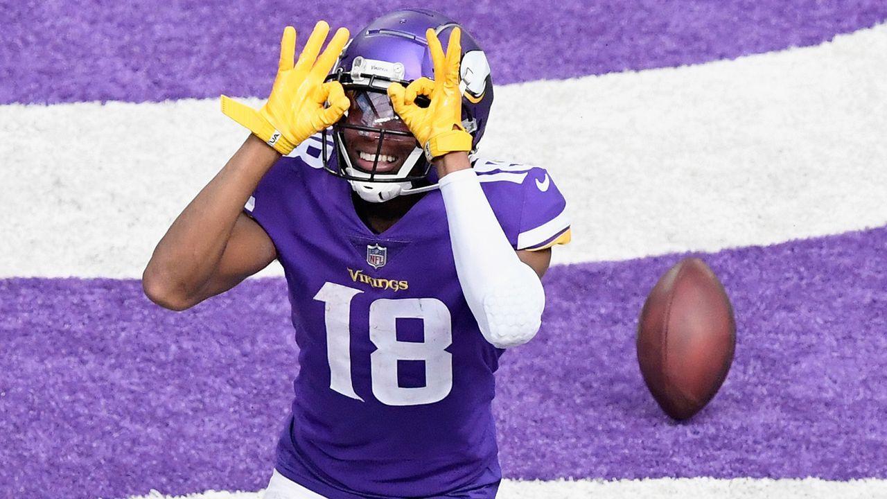3. Platz: Justin Jefferson (Wide Receiver, Minnesota Vikings) - Bildquelle: Getty Images