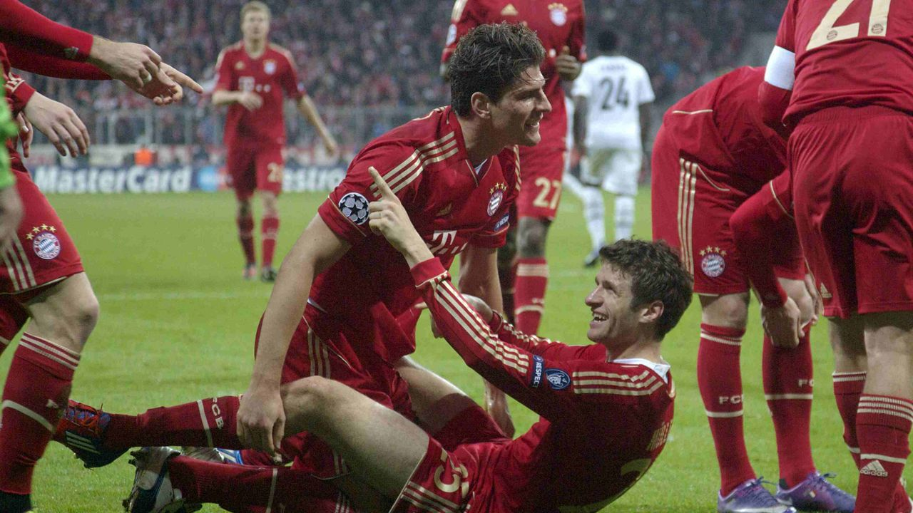 2011/2012: FC Basel gegen FC Bayern (Achtelfinale)  - Bildquelle: imago