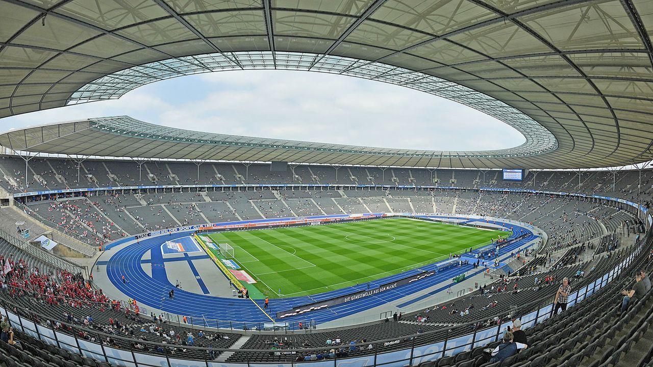 Platz 3: Hertha BSC - Olympiastadion Berlin - Bildquelle: Getty
