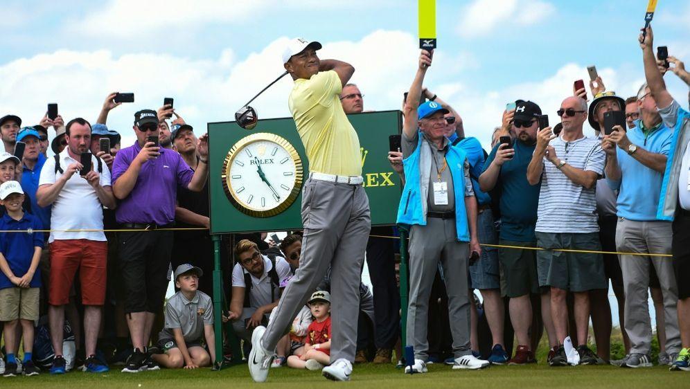 Schmid landete nicht im erhofften Flight mit Tiger Woods - Bildquelle: AFPSIDANDY BUCHANAN