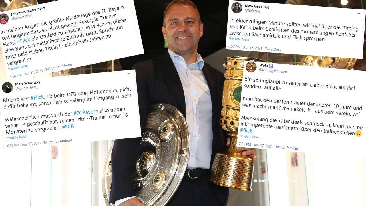 Was läuft schief beim FC Bayern? - Bildquelle: 2020 Getty Images/Twitter