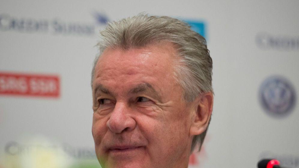 Kann sich Flick bei Bayern vorstellen: Ottmar Hitzfeld - Bildquelle: PIXATHLONPIXATHLONSID