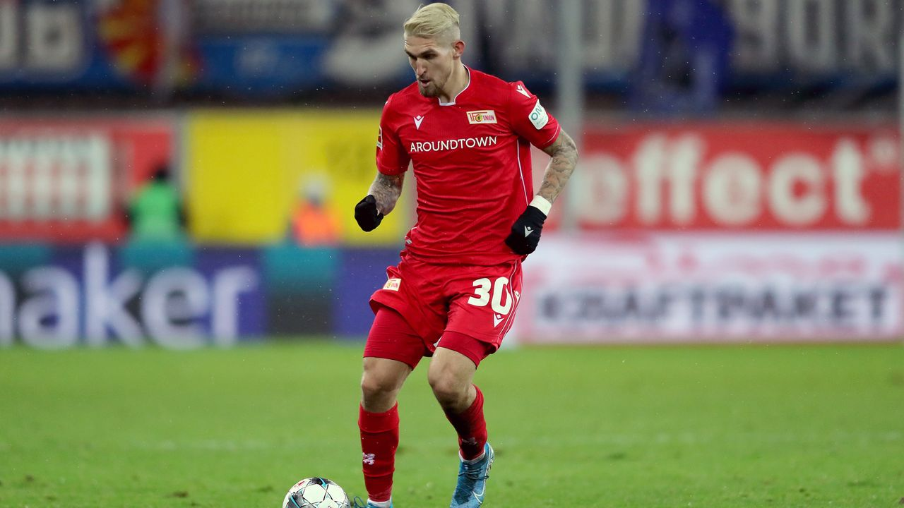 Platz 1 - Robert Andrich (Union Berlin) - Bildquelle: 2019 Getty Images