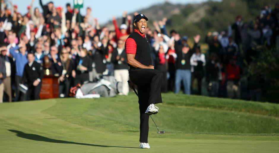 Platz 2: Tiger Woods - Bildquelle: 2011 Getty Images