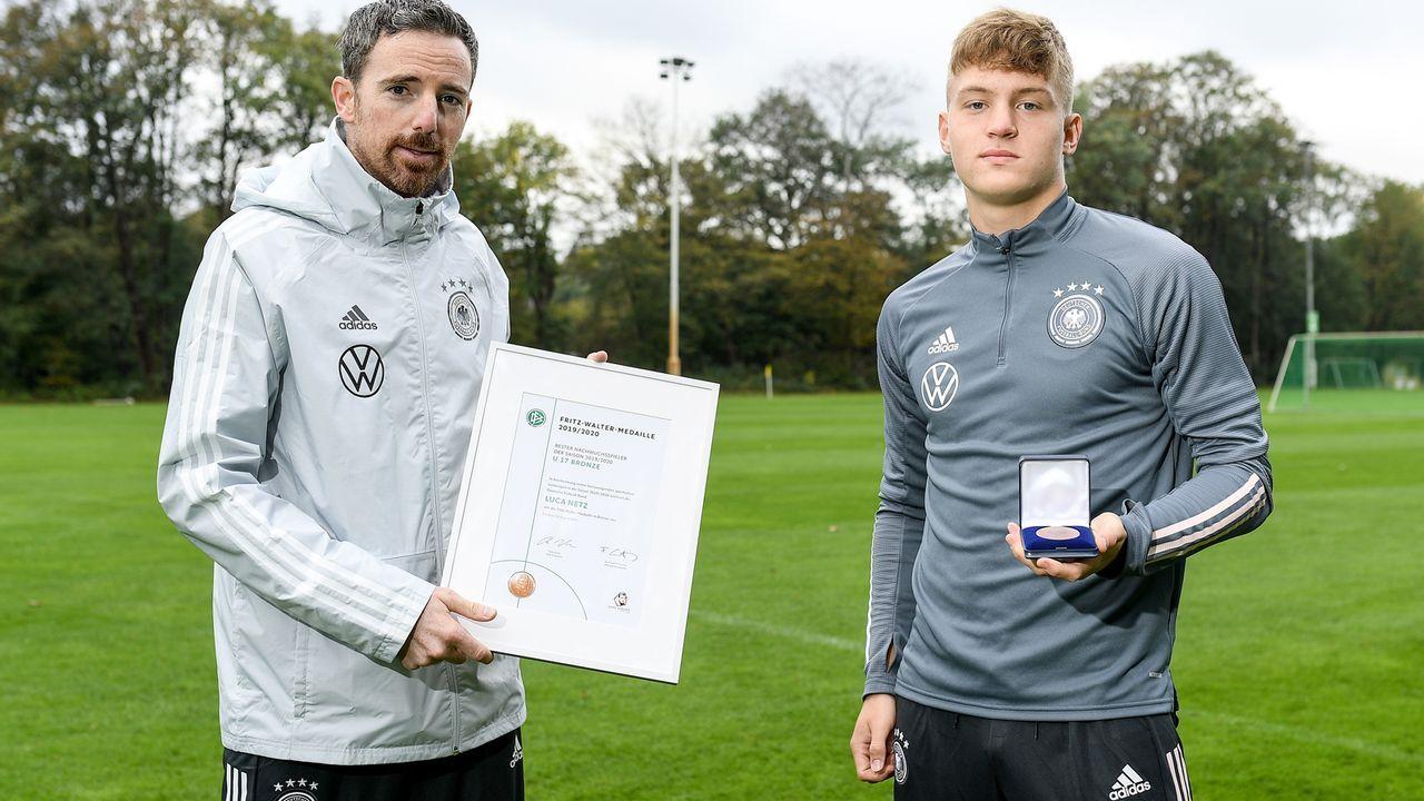 Luca Netz (Borussia Mönchengladbach) - Bildquelle: 2020 Getty Images