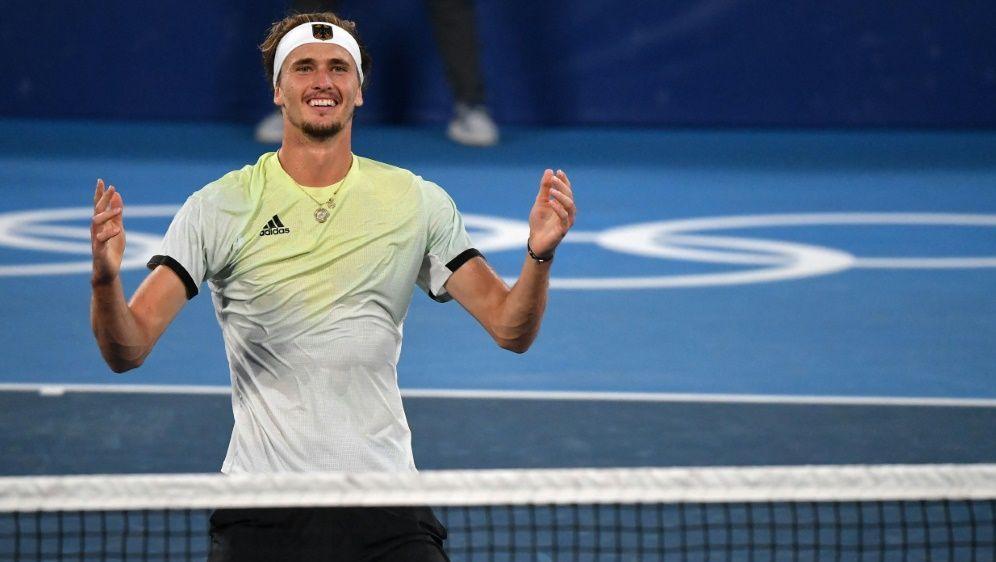 Zverev tritt nach seinem Olympiasieg nicht in Toronto an - Bildquelle: AFPSIDTIZIANA FABI