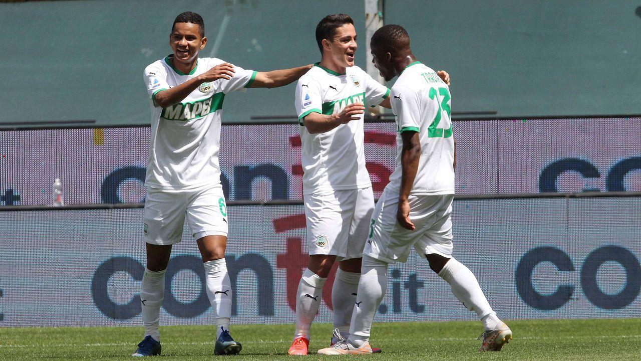 Platz 10 (geteilt): US Sassuolo Calcio - Bildquelle: imago images/HochZwei/Syndication