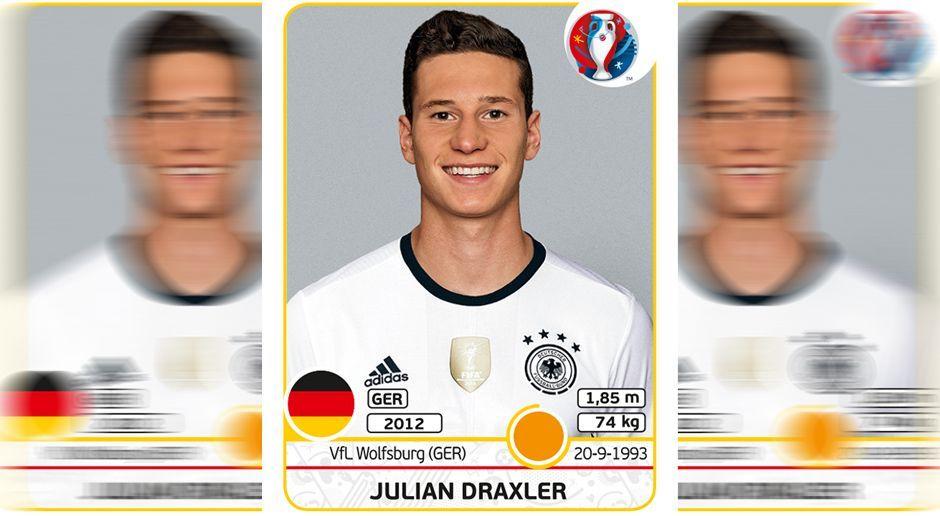 Julian Draxler - Bildquelle: Panini