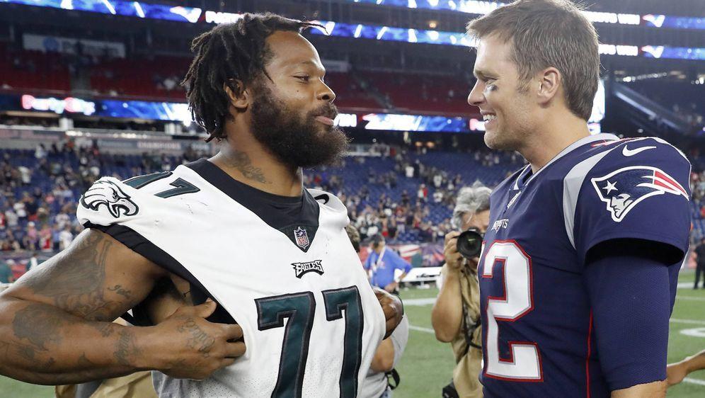 Michael Bennett und Tom Brady: Aus Hass wird Liebe. - Bildquelle: imago/Icon SMI