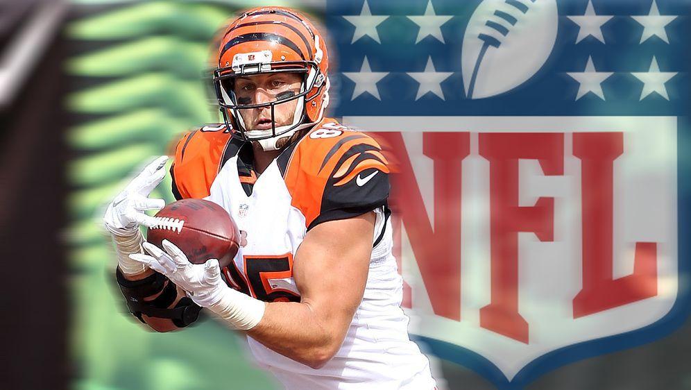 Nach sieben Jahren in Cincinnati zieht es Tyler Eifert nach Jacksonville. - Bildquelle: getty