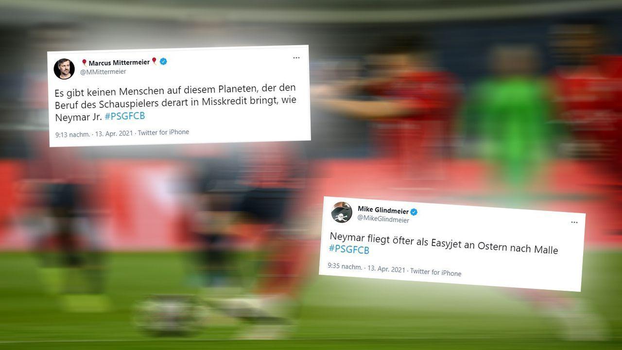 Neymar erhitzt die Gemüter - Bildquelle: 2021 Getty Images / Twitter MikeGlindmeier / MMittermeier