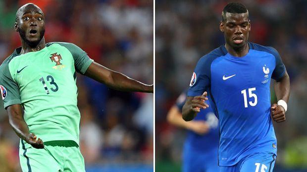 Danilo Pereira vs. Paul Pogba - Bildquelle: Getty Images