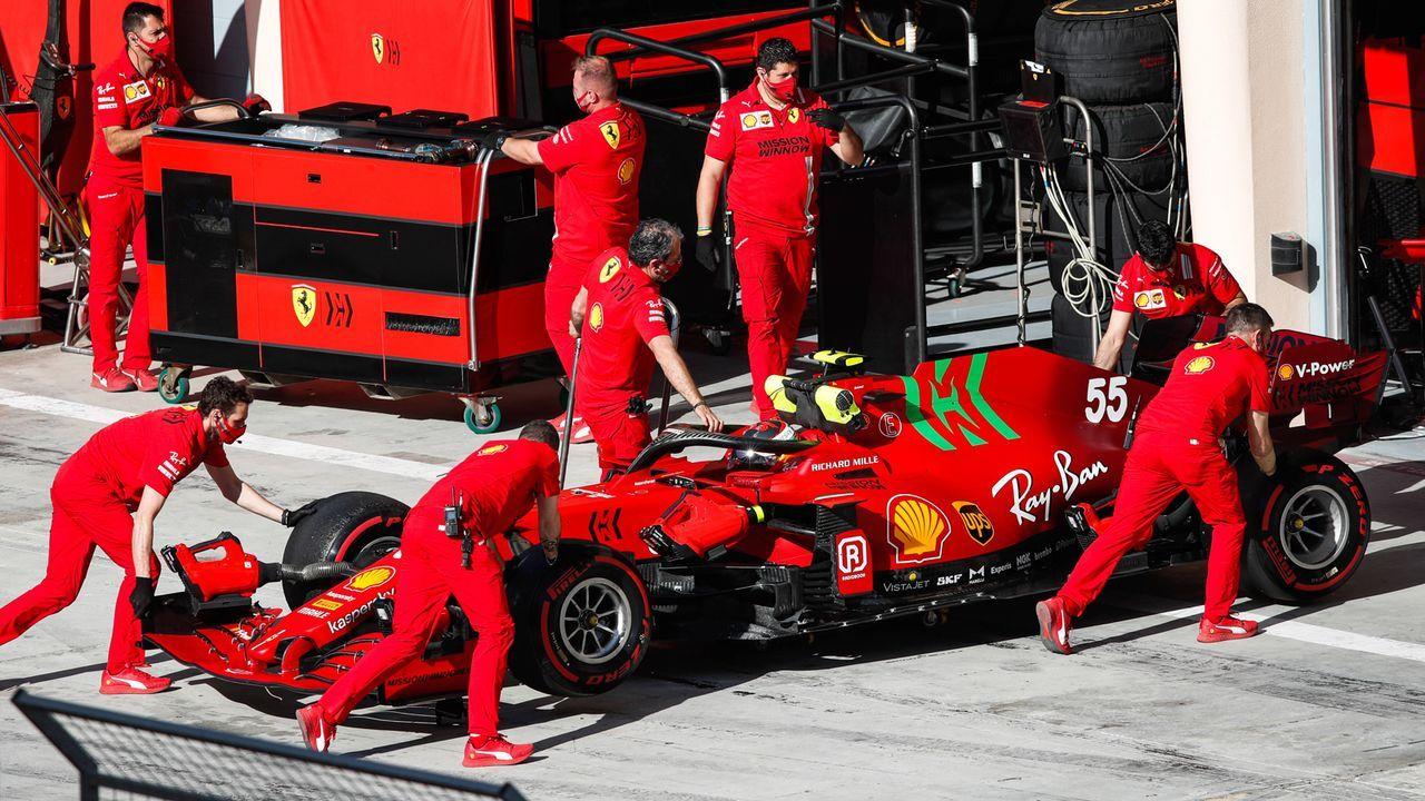Verlierer: Ferrari - Mehr Top Speed, aber noch viel Arbeit - Bildquelle: imago images/Motorsport Images