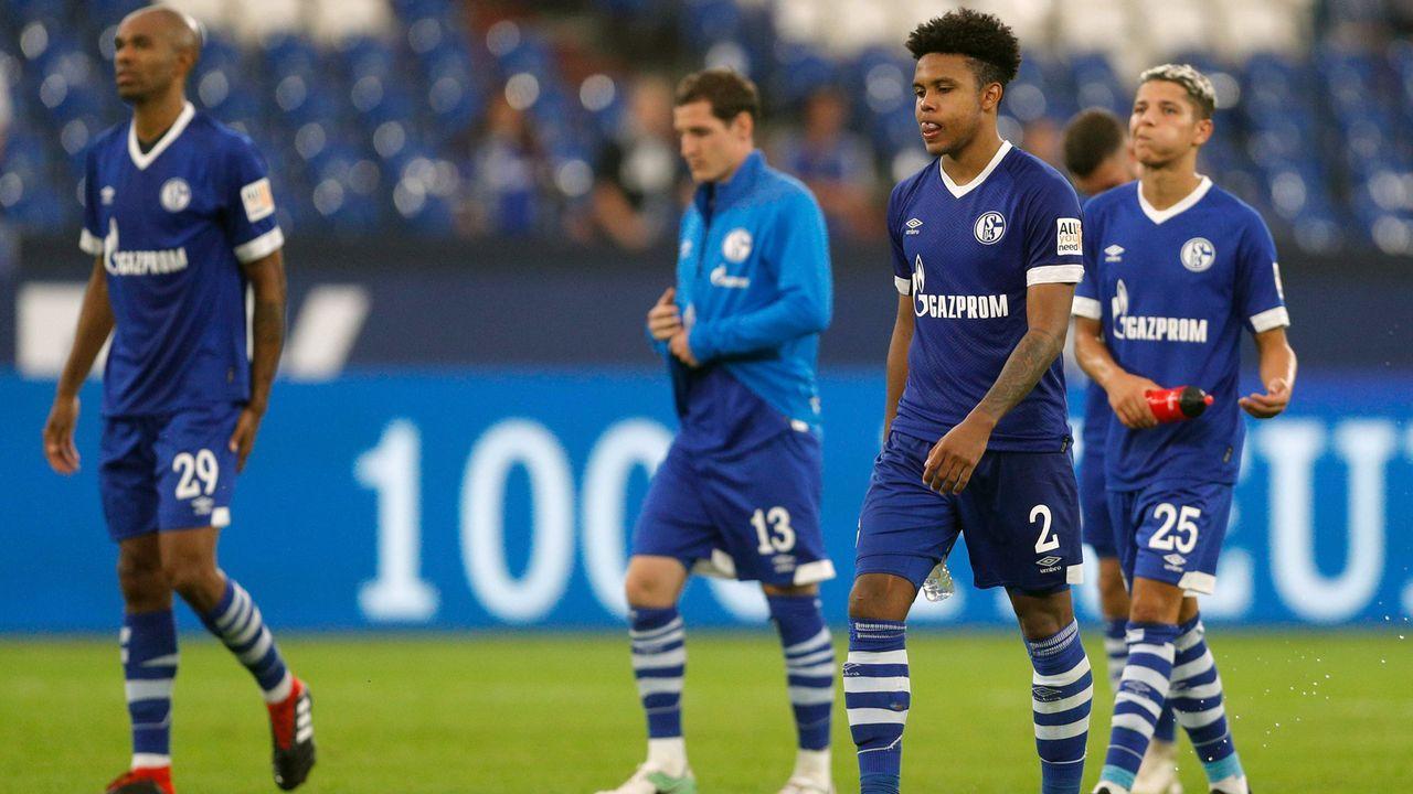 Platz 33 - FC Schalke 04 - Bildquelle: imago/RHR-Foto