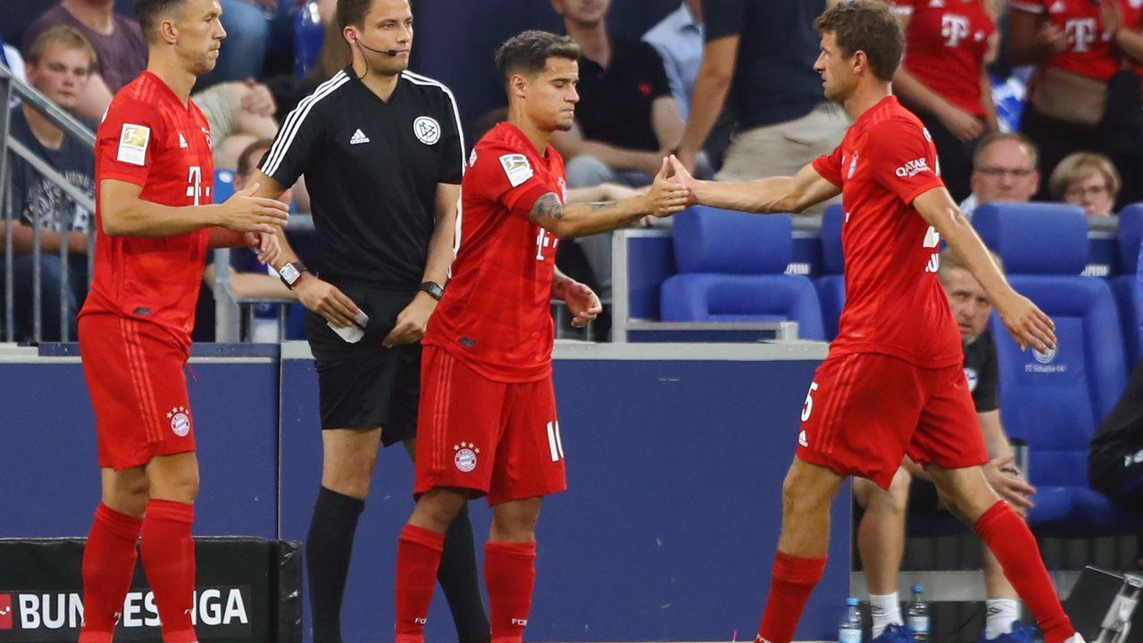Coutinho kommt für Thomas Müller - Bildquelle: 2019 Getty Images
