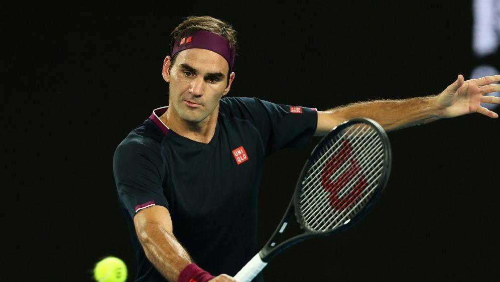 Kämpfte sich in die nächste Runde: Roger Federer - Bildquelle: PIXATHLONPIXATHLONSID