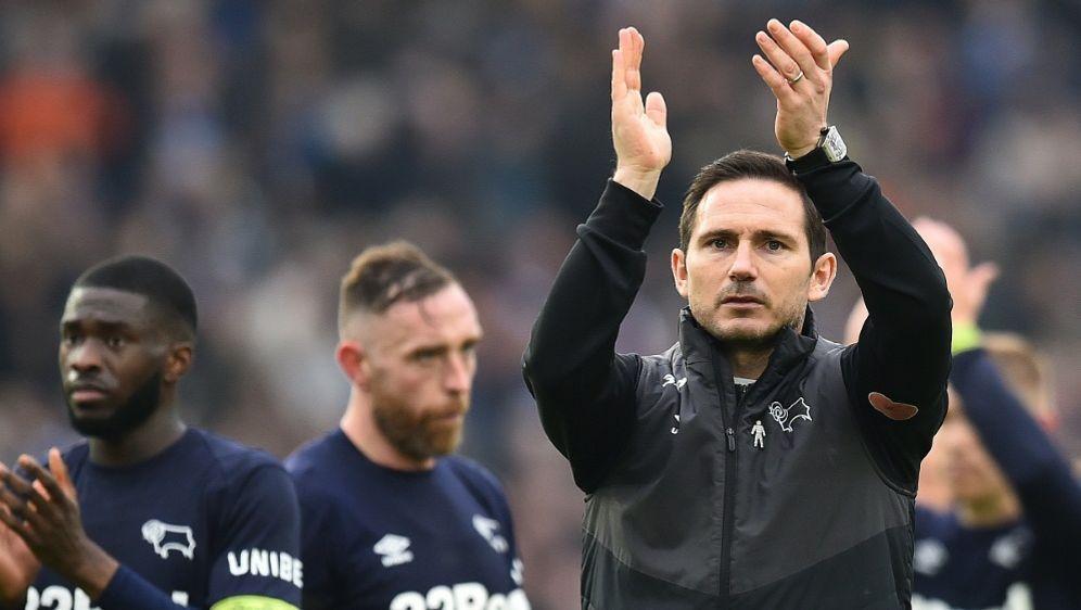 Derby County und Frank Lampard stehen im Play-off-Finale - Bildquelle: AFPSIDGLYN KIRK