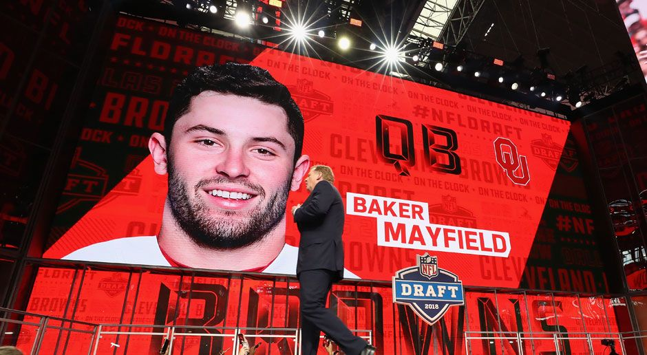1. Baker Mayfield (Quarterback, Cleveland Browns)  - Bildquelle: 2018 Getty Images