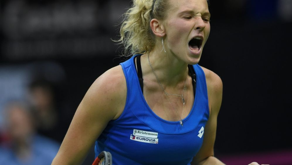 Siniakova holte den entscheidenden Punkt für Tschechien - Bildquelle: AFPSIDMichal Cizek