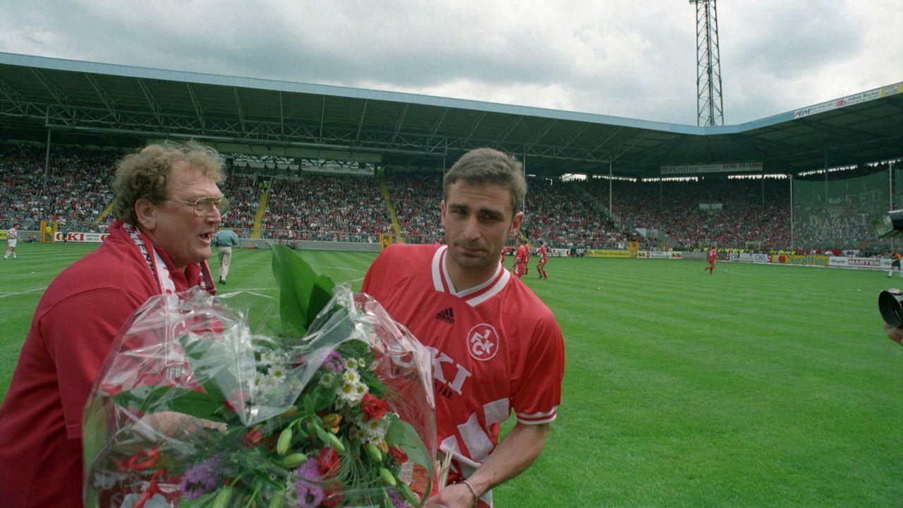Abschied aus Kaiserslautern 1995 - Bildquelle: imago sportfotodienst