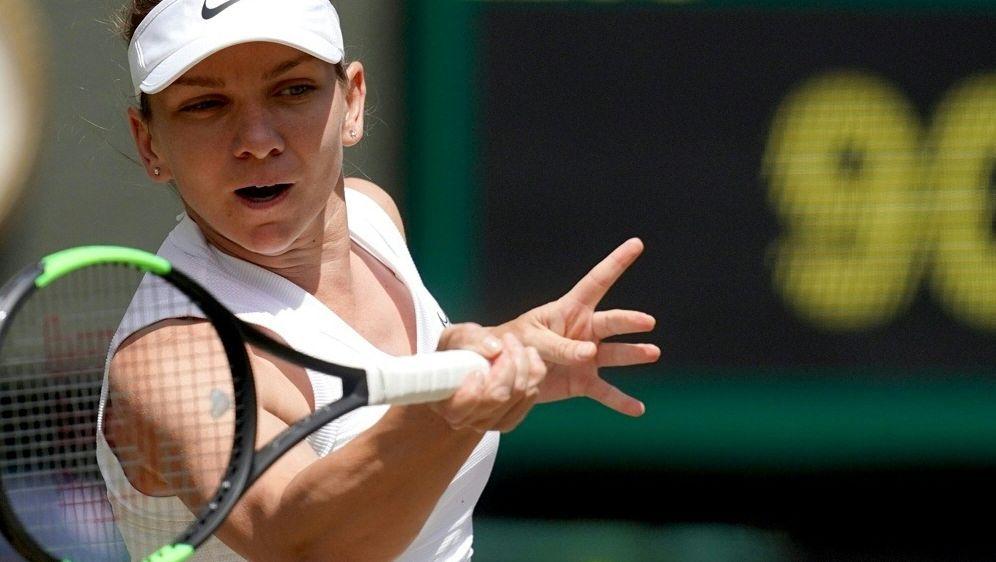 Simona Halep steht im Finale von Wimbledon - Bildquelle: AFPSIDWILL OLIVER